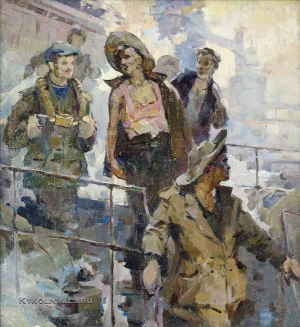 Котов Петр Иванович (1899-1953) «Шахтеры»