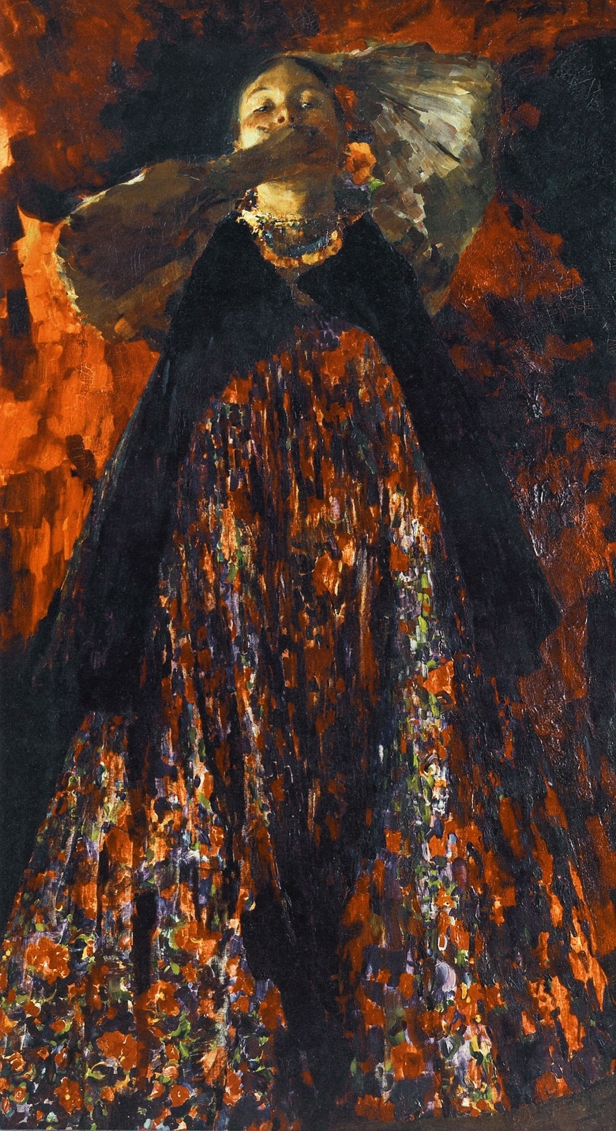Малявин Филипп Андреевич (1869-1940) «Девка» 1903 ГТГ