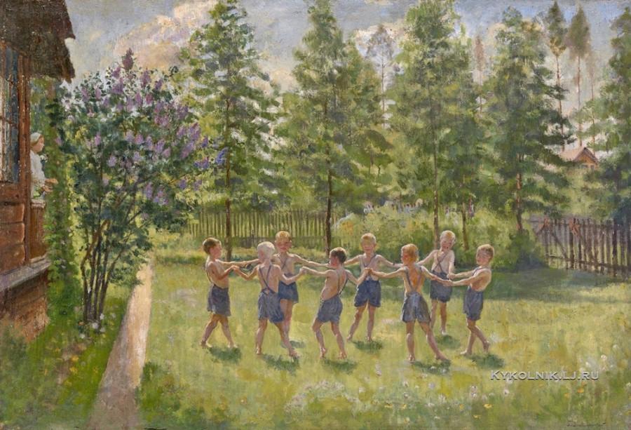 1930-е Владимирский Борис Еремеевич (Иеремеевич) (1878-1950) «Хоровод»