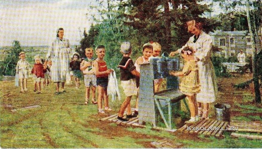 1954 Овчаров Андрей Владимирович (1926-1994) «Детский сад»
