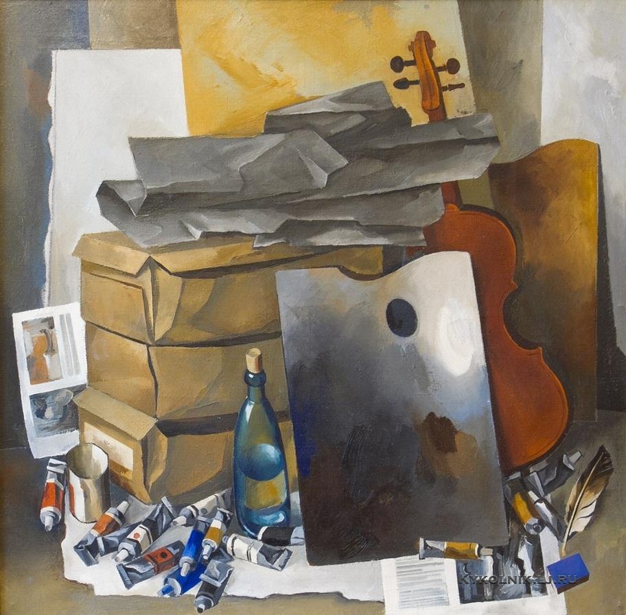 Якивец Валерий Лаврентьевич (Россия, 1949) «Натюрморт» 1979