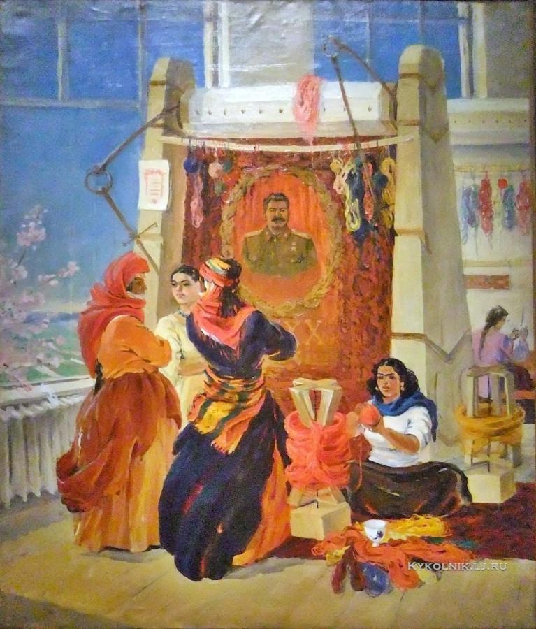 Асламазян Мариам Аршаковна (1907-2006) «Армянский ковер» 1948