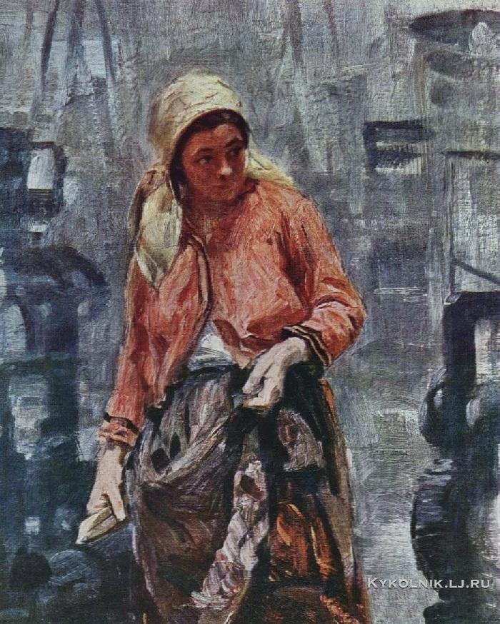 Касаткин Николай Алексеевич (1859-1930) «Ткачиха» 1904