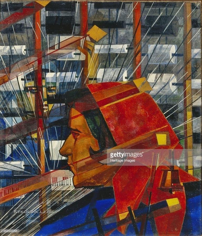 Купцов Василий Васильевич (1899-1935) «Ткачиха» 1931