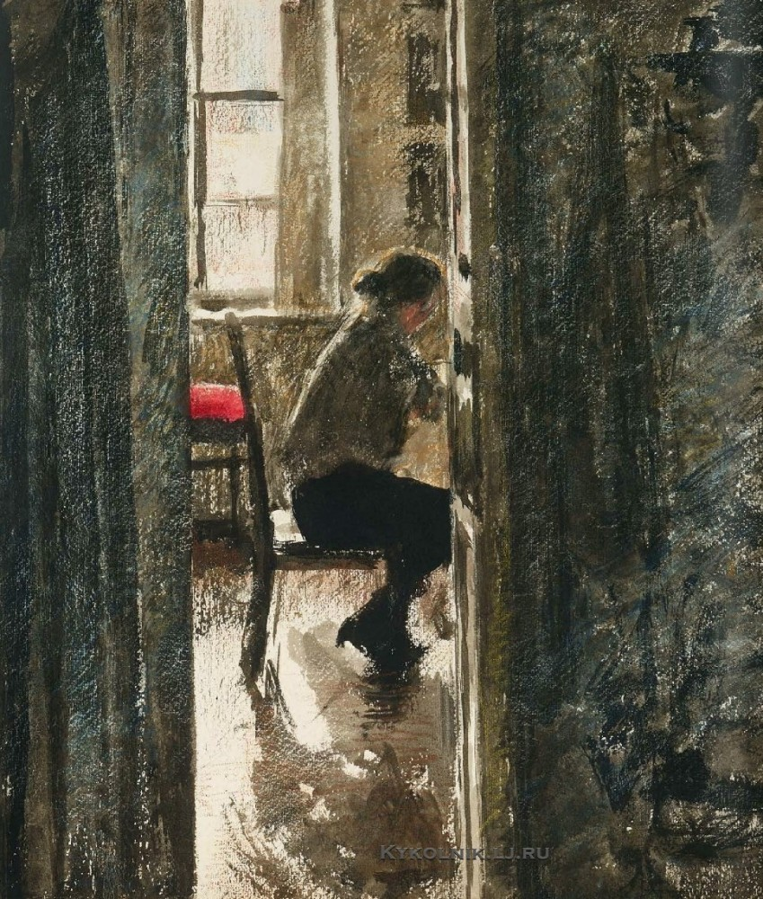 Верейский Георгий Семенович (1886–1962) «За шитьем 1926