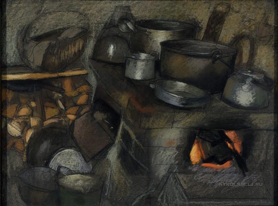 Калнениек Эдвин Фрицевич  (Латвия, 1939) «В студии» 1980