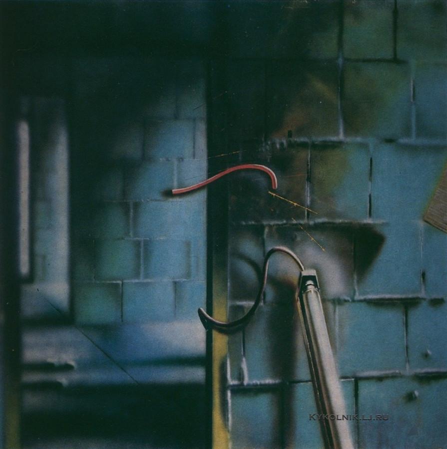 Кесккюла  Андо Альфредович (1950-2008) «Промышленный интерьер» 1977