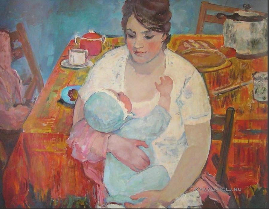 Витман Ирина Ивановна (1916-2012) «Материнство»