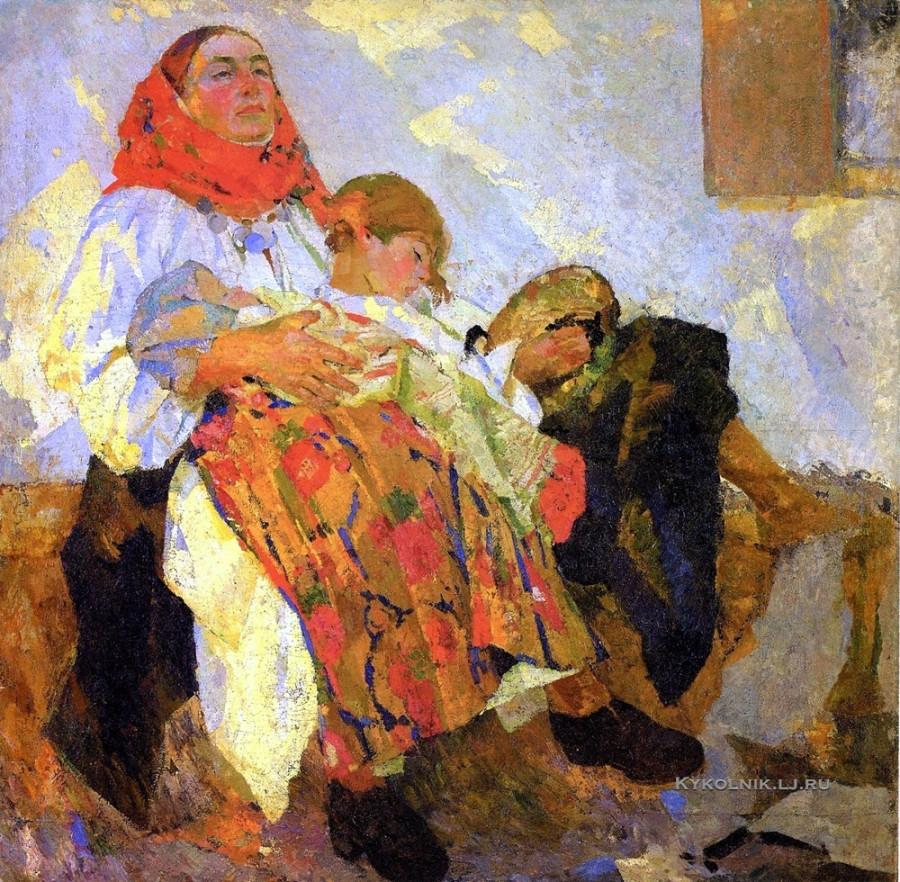 Кричевский Федор Григорьевич (1879-1947) «Мать» 1929