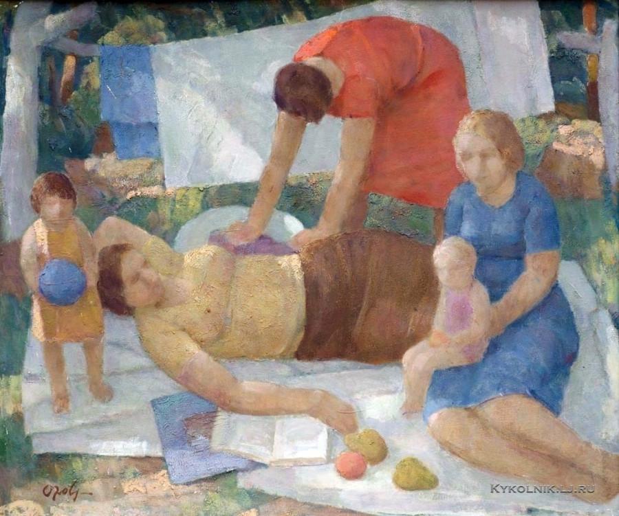 Озол (Озольс) Вилис Аугустович (1929-2014) «Лето» 1974