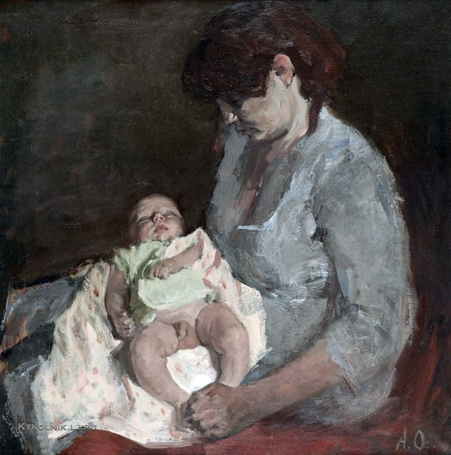 Осипов Афанасий Николаевич (Россия, 1928) «Виолетта» 1950-е