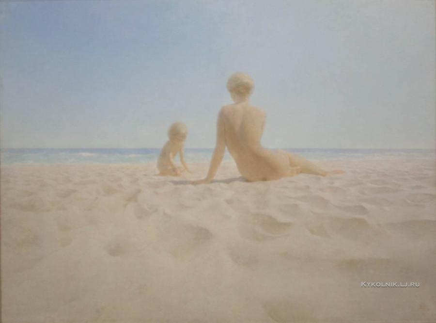 Штеренберг Давид Давидович  (1931-2014) «День у моря» 1982