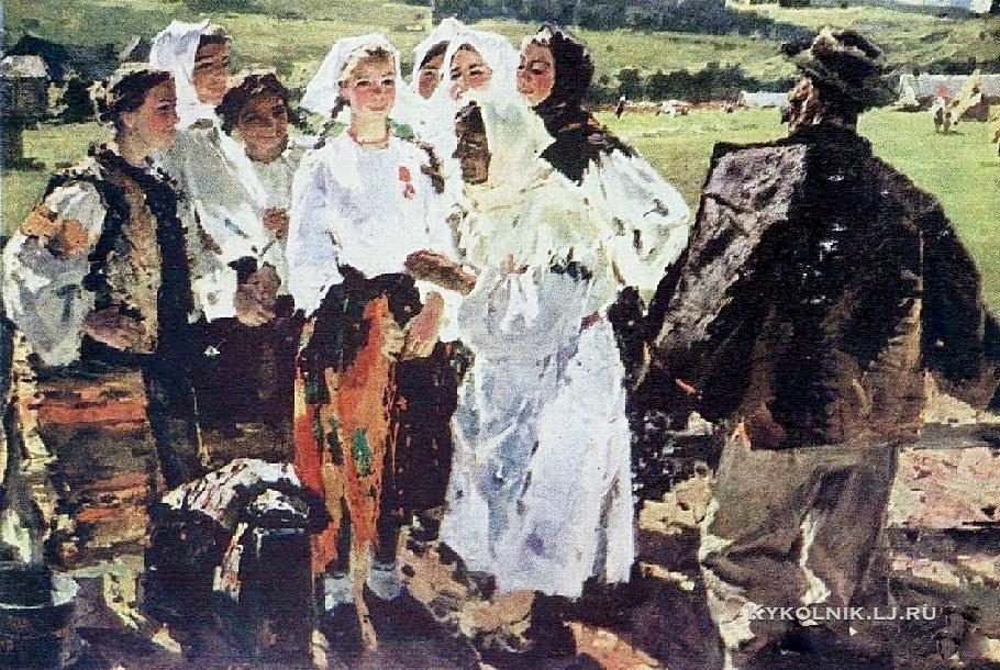 Голембиевская Татьяна Николаевна (Украина, 1936) «Высокая награда»