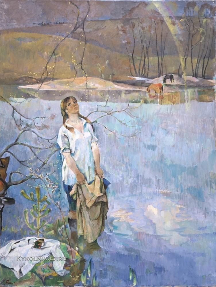 Вакс Борис (Бенцион) Иосифович (1912-1989) «Тишина 1971 (2)