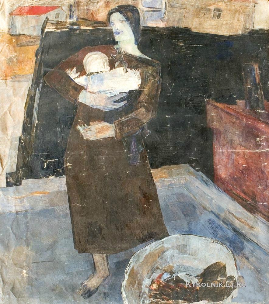 Гаскевич Екатерина Степановна (1905–1994) «Прачка» 1926