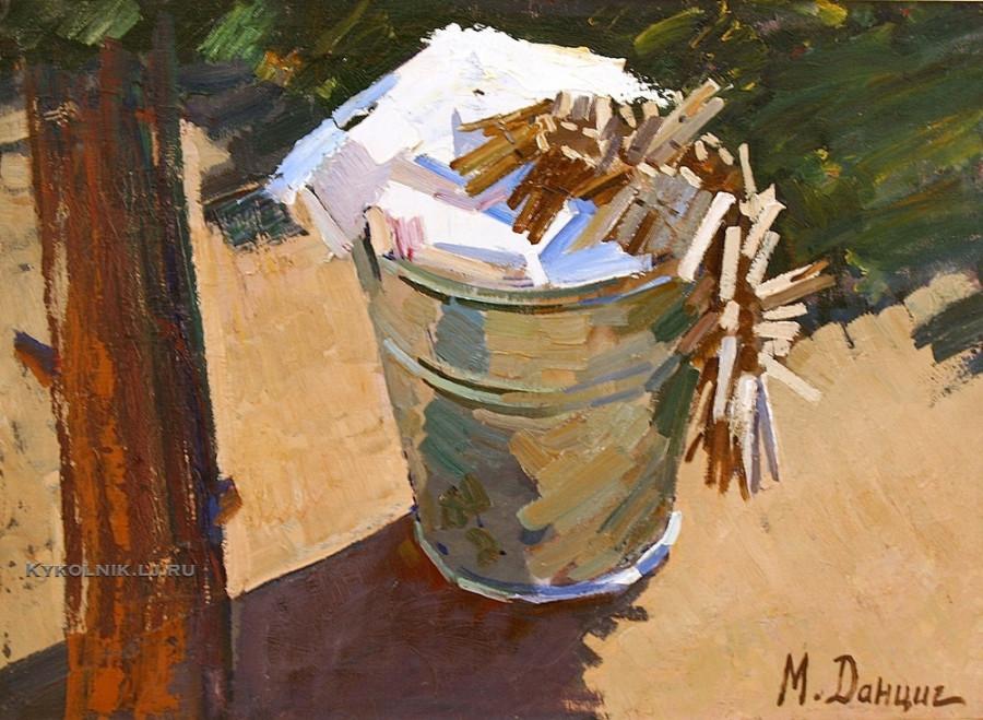 Данциг Май Вольфович (Белоруссия, 1930) «Большая стирка»