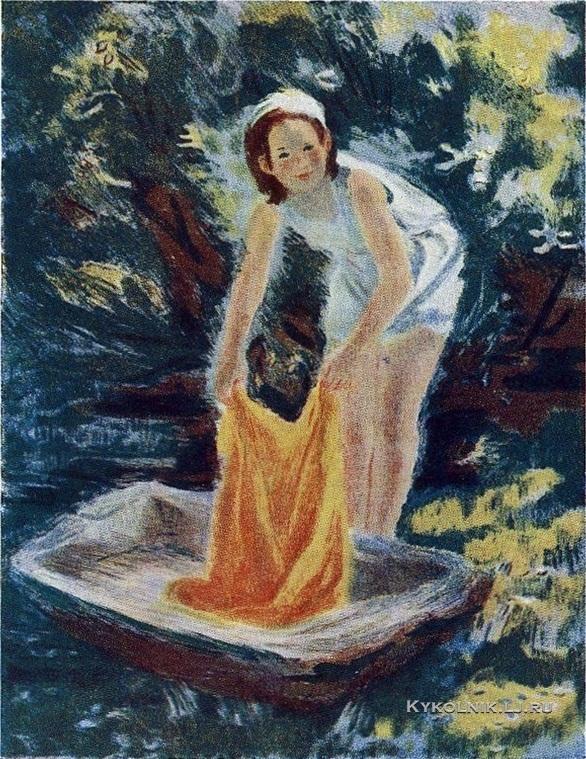 Тимошенко Лидия Яковлевна (1903-1976) «Катюша» 1956