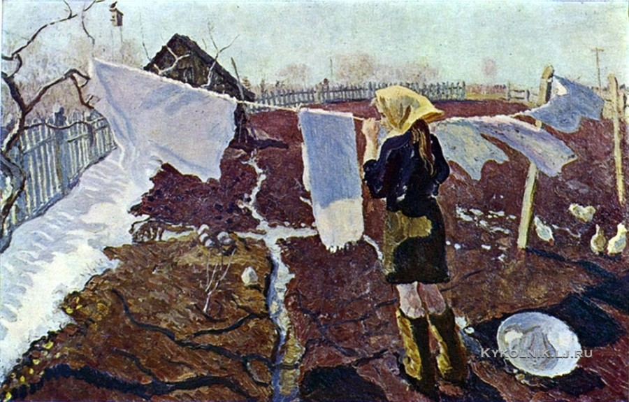 Ткачевы Сергей Петрович и Алексей Петрович (1922, 1925) «Весна» 1974
