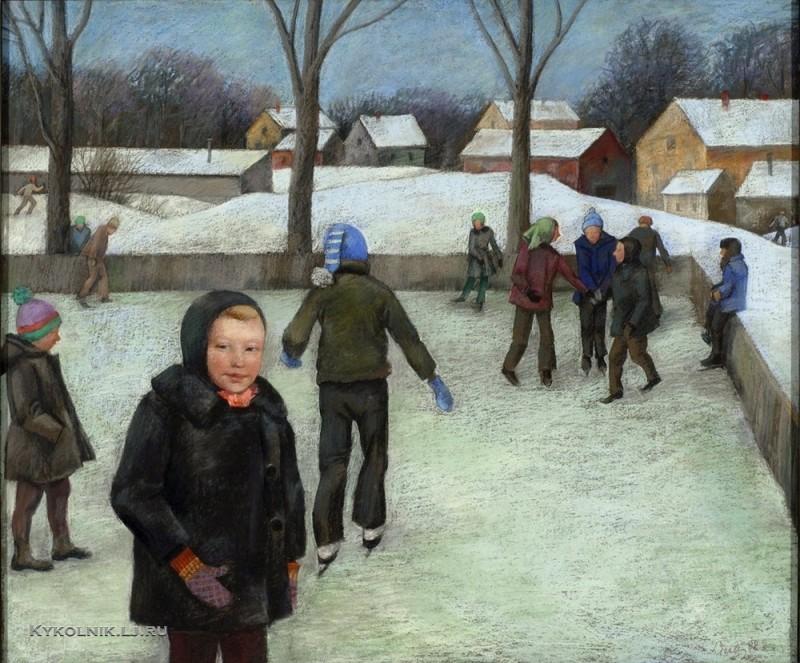Лицитис Валдис Волдемарович  (Латвия, 1939) «Каток» 1982