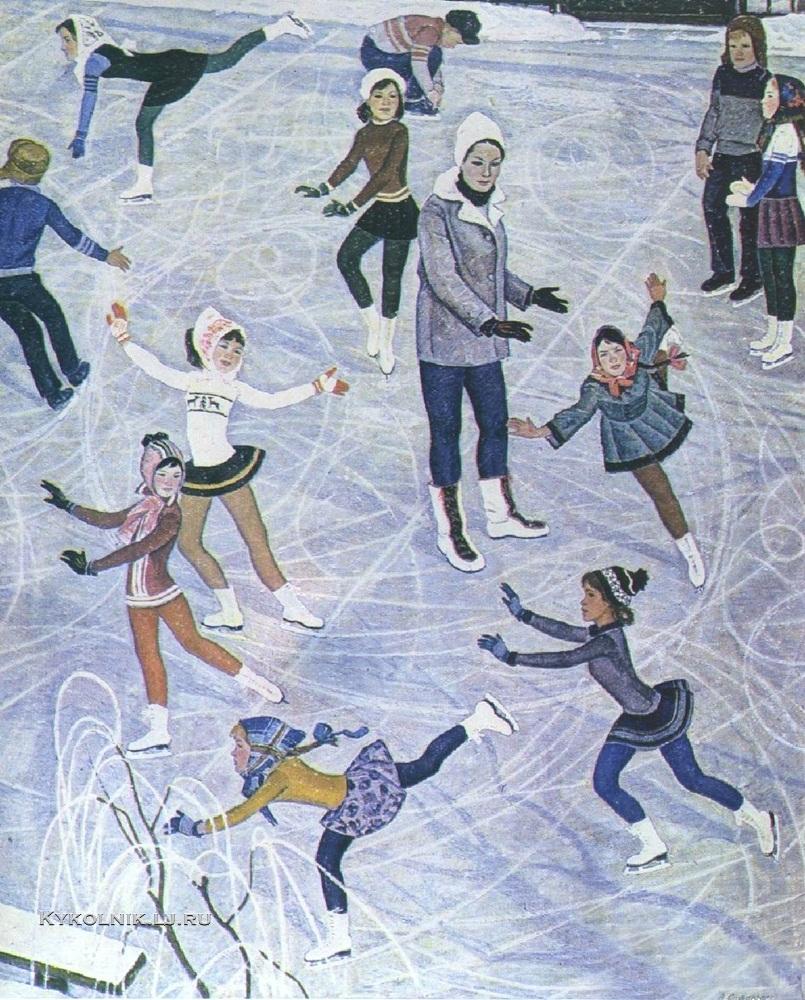 Сафаргалин Асхат Газизулинович (1922-1975) «Зимние кружева» 1970
