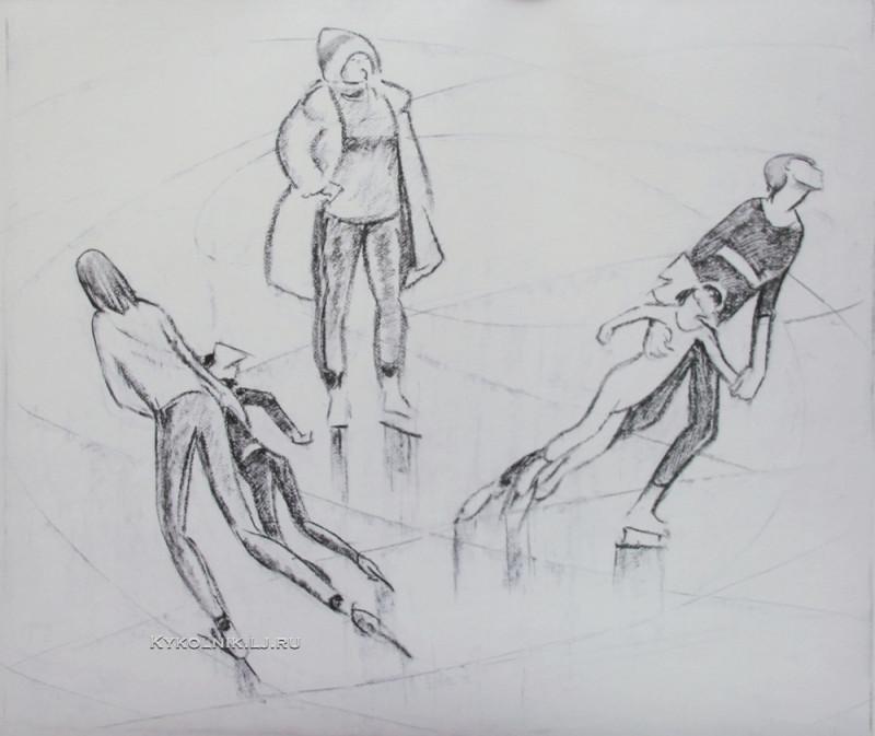 Сойфертис Леонид Владимирович (1911 – 1996) «Спортивная тренировка»