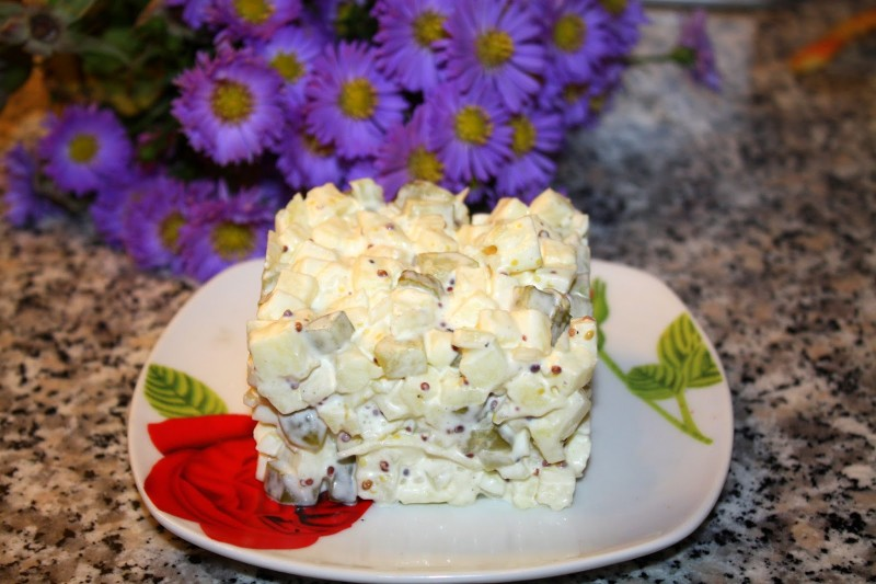 Луковый салат рецепт с фото