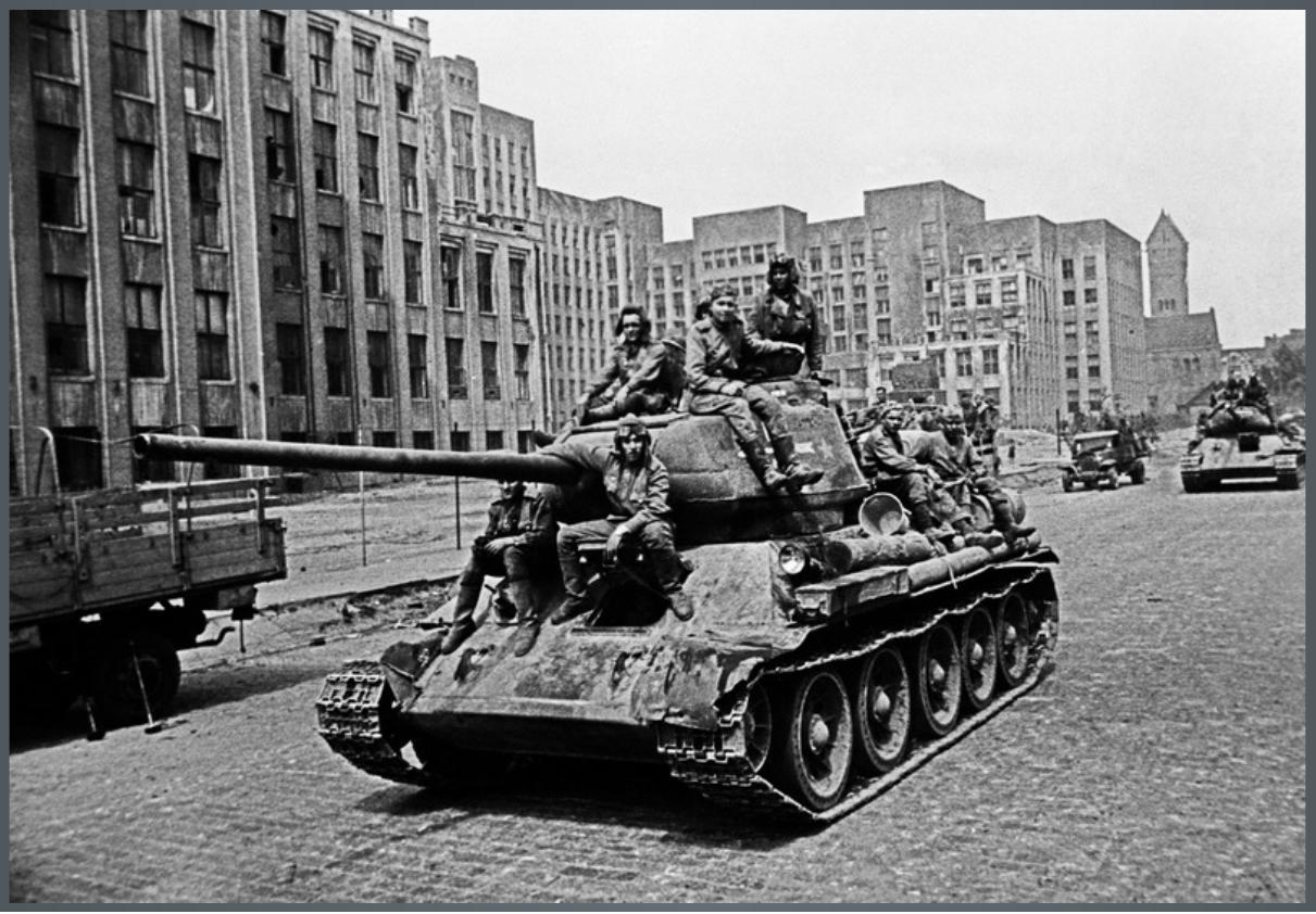 ул.советская 1 Дом правительства 1944_1 3 июля 1944 года