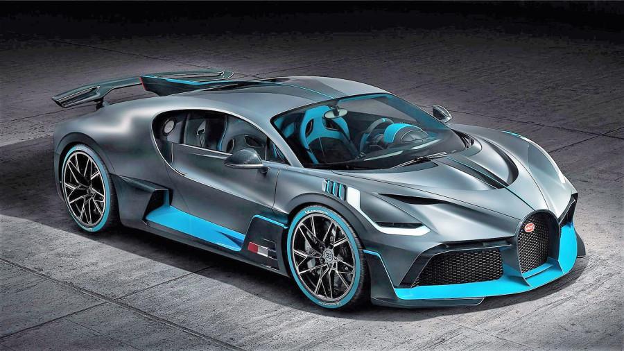 Авто Bugatti Divo