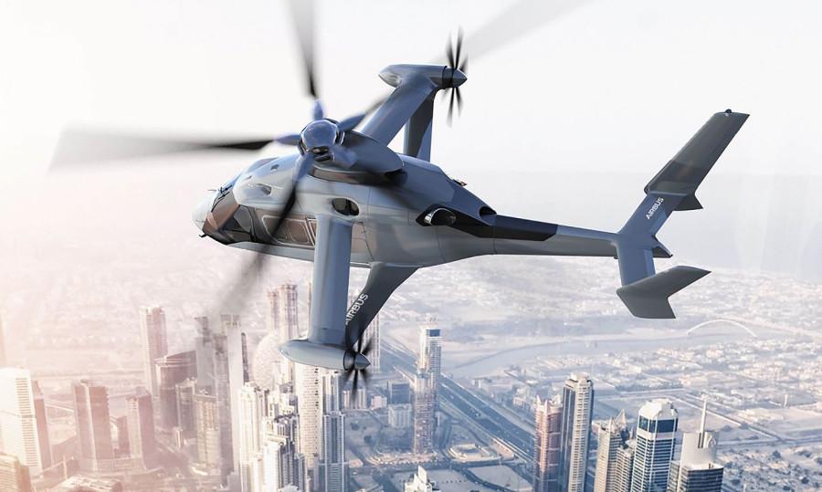Прототип Airbus Rapid And Cost-Efficient Rotorcraft