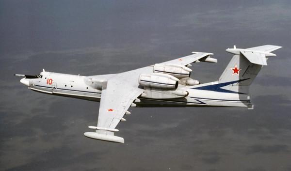 Самолёт - амфибия А-40. Продолжение будет.