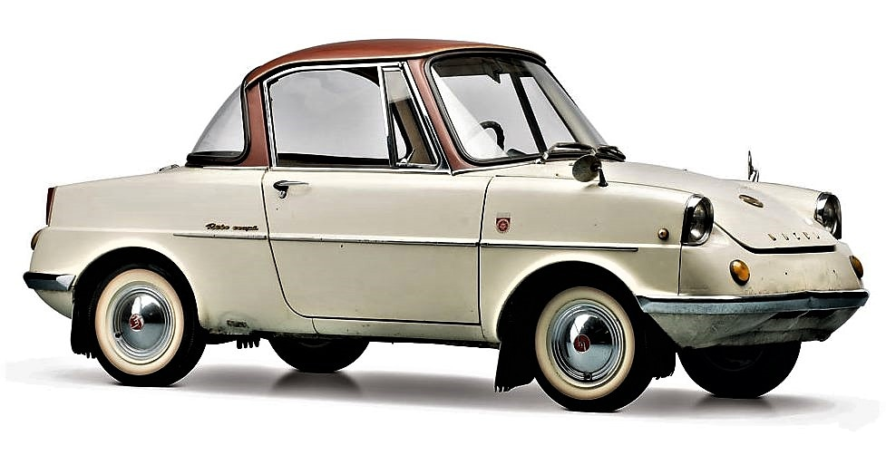 Mazda R360. Япония 1960 г.