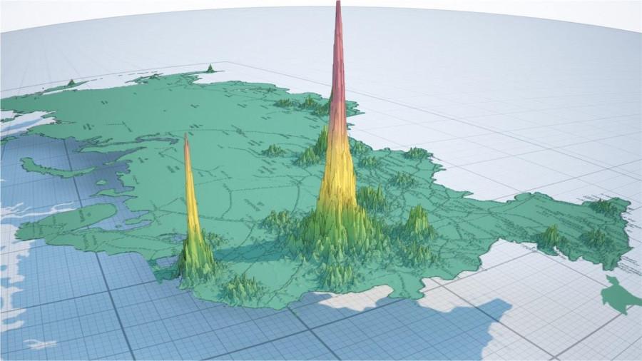 население страны Инфографика