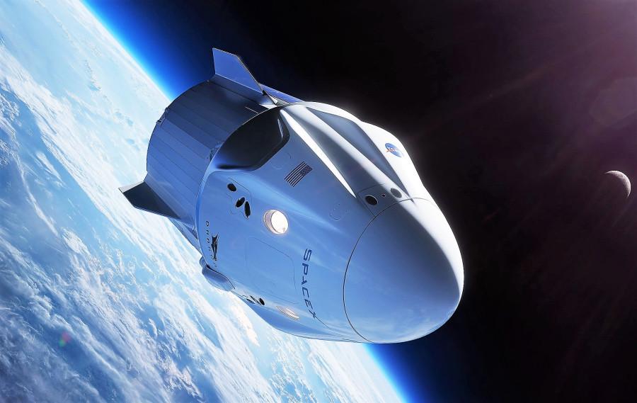 Проект от Space X - Dragon V2