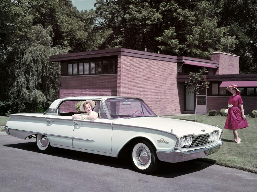 Авторетро. Ford Galaxie 1960 г.