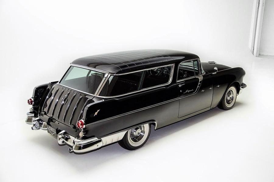 Авторетро. Pontiac Star Chief Safari Wagon 1955г.