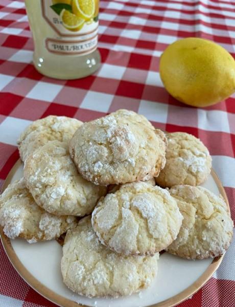 печенье лимон
