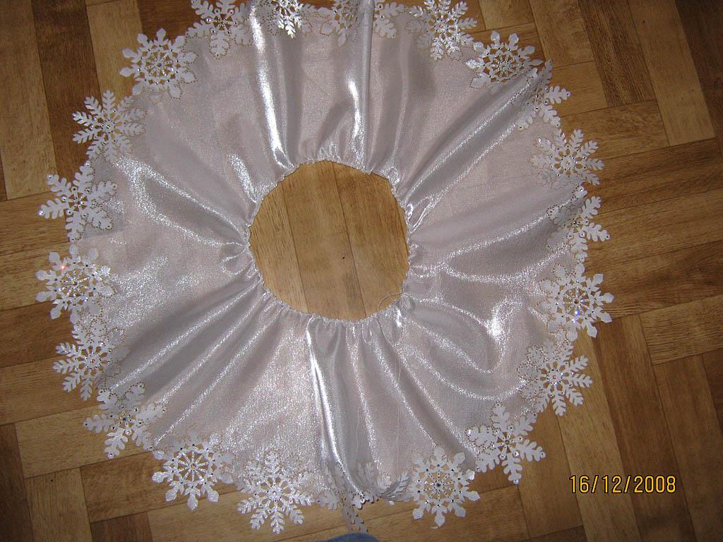 Новогоднее платье своими руками мастер класс