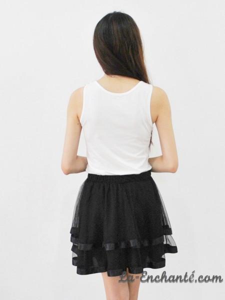 chiffon swirl skirt black (8)