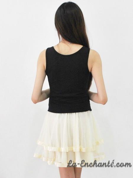 chiffon swirl skirt cream (1)