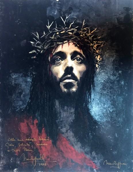 Рисунок Франко Дзеффирелли с дарственной надписью. Из личного архива Д. Корридони