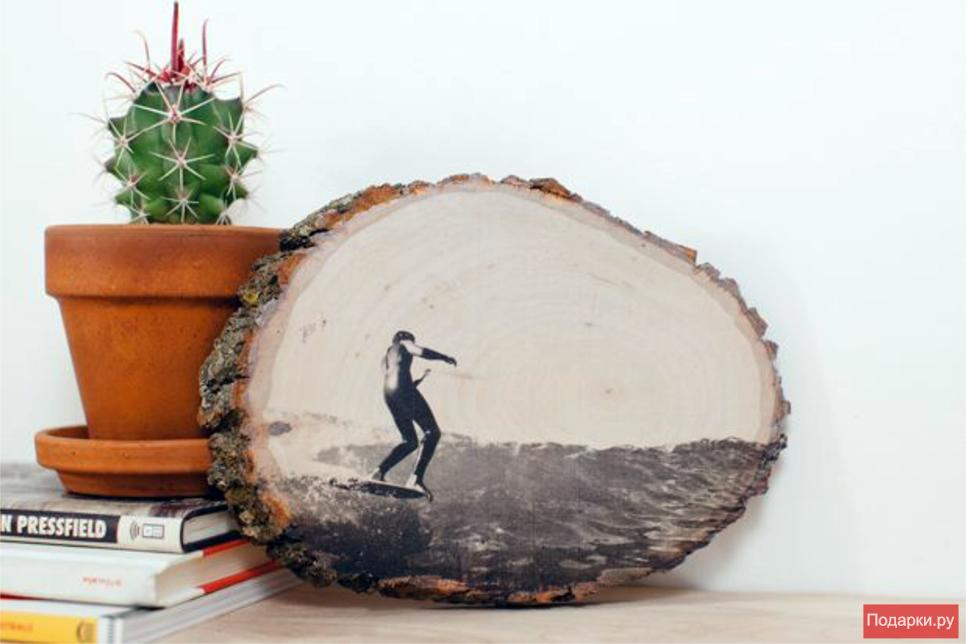 Как перевести фото на дерево в домашних условиях