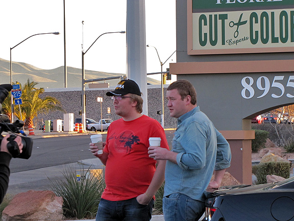 Небольшой перерыв Стиллавина и дозаправка кофем в Лас Вегасе