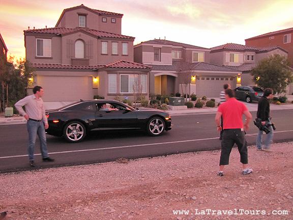 съемки Стиллавина в пригороде Лас Вегаса