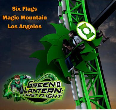 Самый большой парк Американских Горок в мире - Six Flags Magic Mountain, Los Angeles