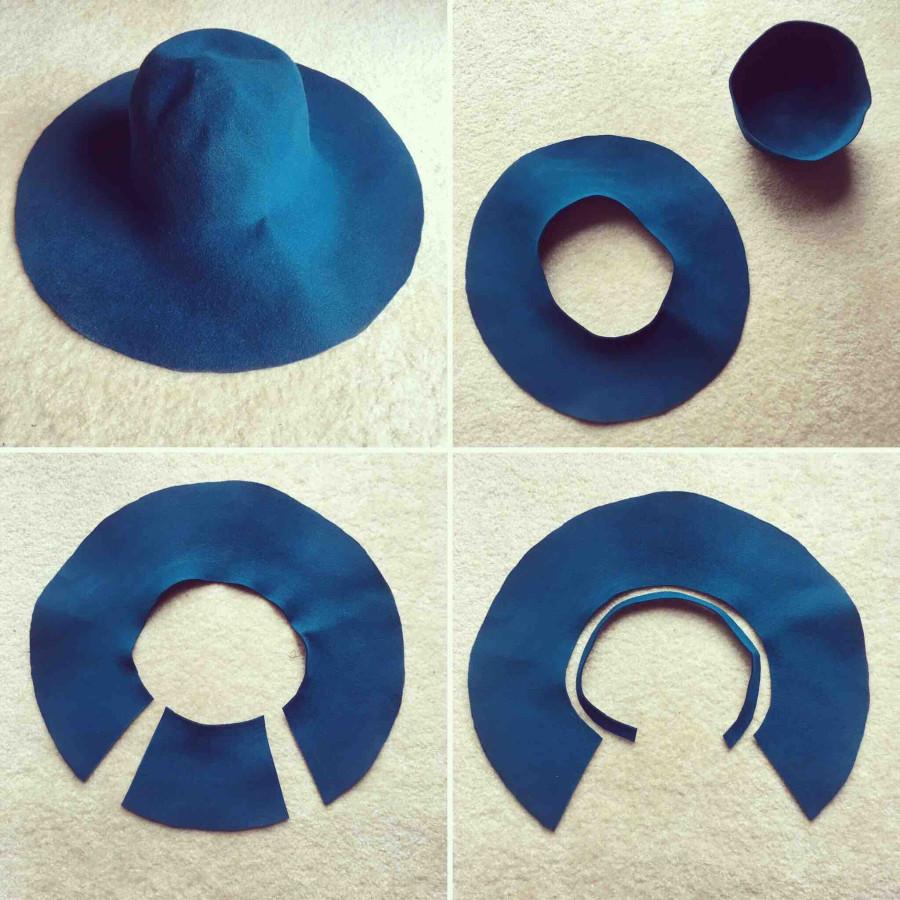Make felt hats | chapéu de feltro, fazer chapéu, feltro.