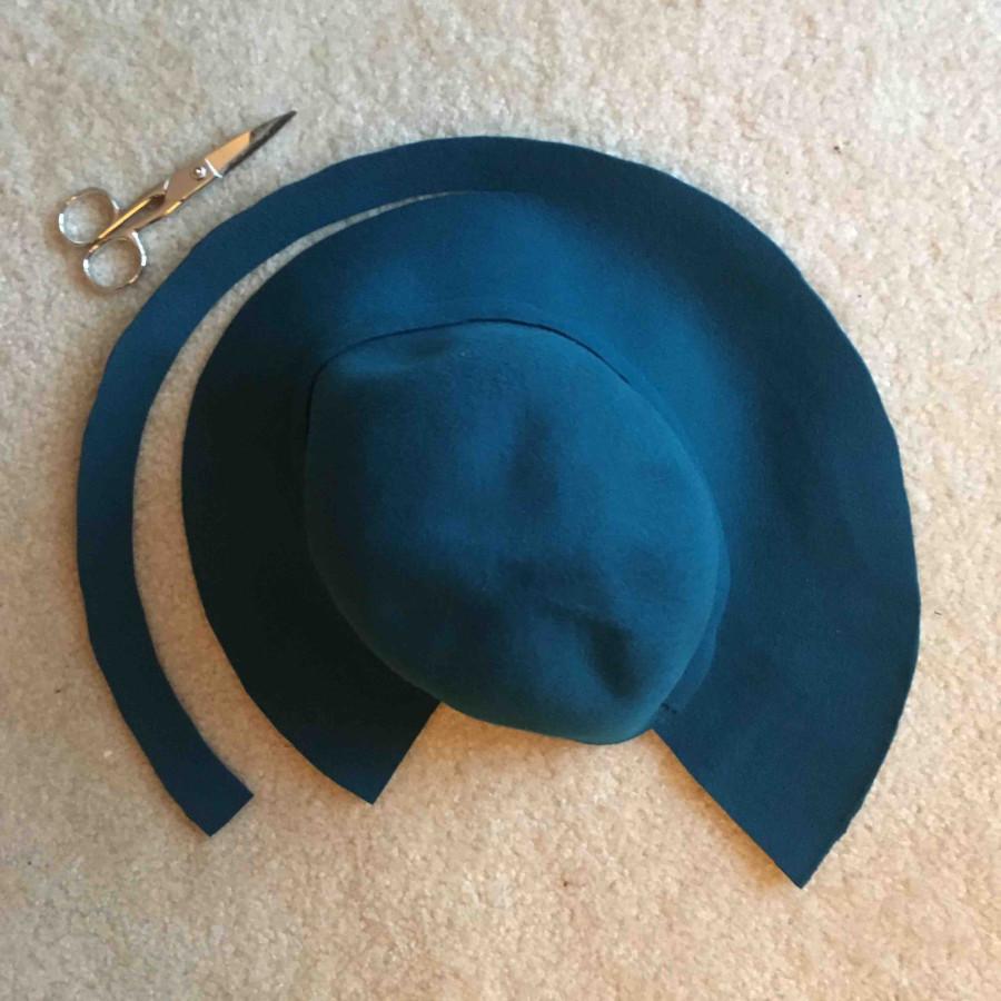 Tutorial: 1940s felt hat reproduction, part two