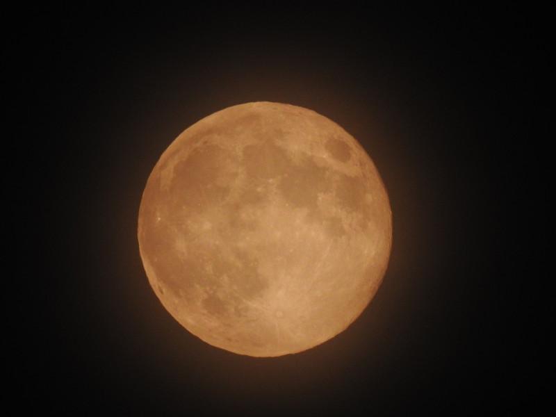 Луна 07.05.2020 23:33. Ижевск.
