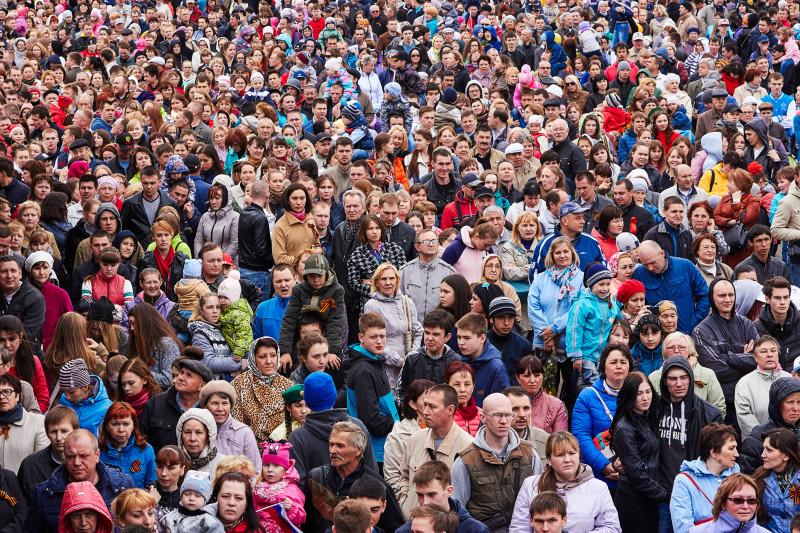 9 мая 2015 года, Ижевск, Центральная площадь