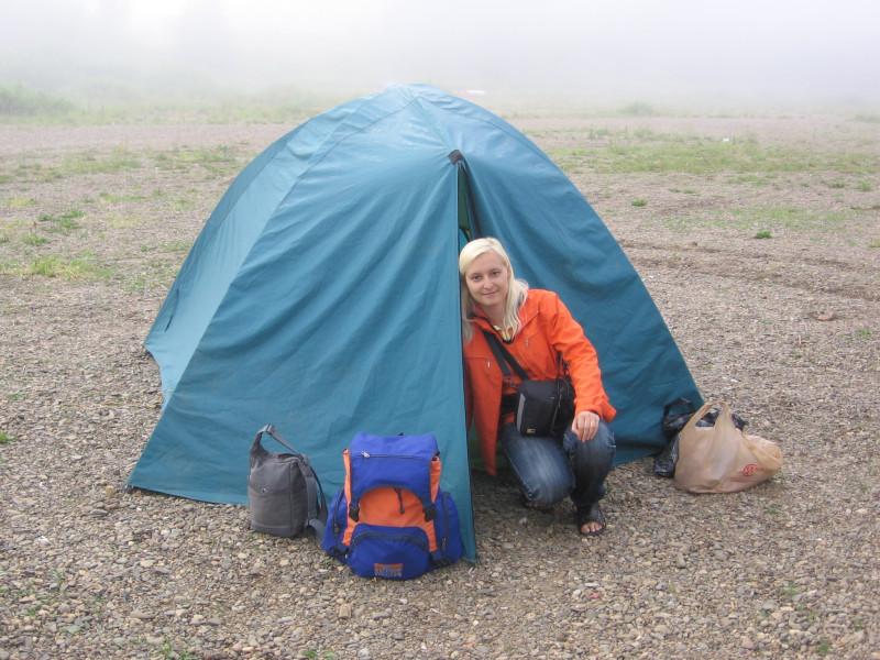 Вот она, моя первая палатка за 30 лет жизни