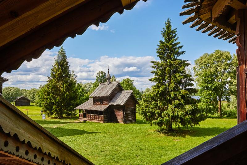 Деревянное зодчество. Музей под открытым небом Витославлицы, Новгородская область